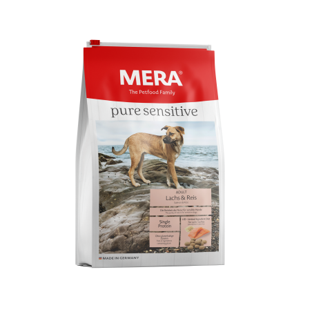 MERA pure sensitive Lachs + Reis